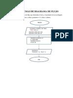 Problemas Diagrama de Flujo