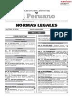 Normas Legales (17-01-2019). Lima, Editora Perú, 2019.