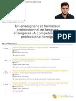 CV EmploiPartner Mohammed Abd El Hadi Boudjemaà1547610878