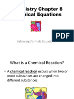 Modern Chemistry Chapter 8 Chemical Equations