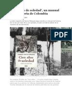 Cien Años de Soledad Soledad