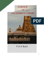 ESSENCE OF SOUNDARYA LAHARI -ADI SHANKARA.pdf