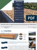 Presentación Comercial BioFiltro Domiciliaria