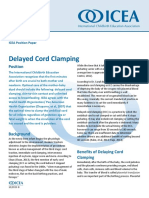 Delayed Cord Clamping PP