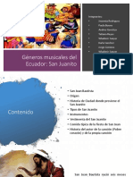 Géneros Musicales Del Ecuador