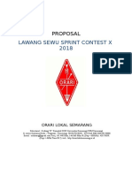 Proposal Lawang Sewu Sprint Contest X 2018