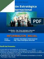 Sesion 1 GESTION ESTRATEGICA INTERNACIONAL