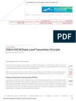 TDR & FMCW Radar Level Transmitters Principle Instrumentation Tools