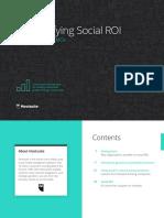 Social ROI Booklet