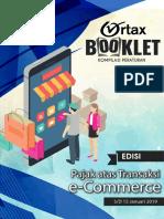 Ortax Booklet Pajak Atas Transaksi ECommerce
