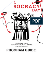 Media Democracy Day Program Guide