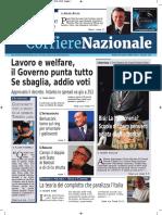 Rassegna Stampa Nazionale e Locale Dell'Umbria Del 18 Gennaio 2019