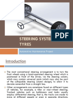 Steering System and Tyres