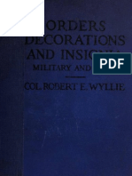 (1917) Orders, Decorations and Insignia