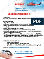 Open Recruitment for Gp