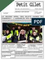Le Petit Gilet de Commercy n°1