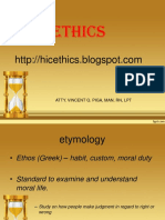 1. General Ethics