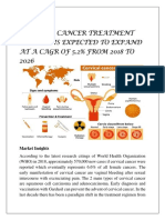 Cervical Cancer Treatment Market