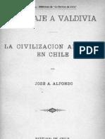 Jose A. Alfonso - Viaje a Valdivia, Civilización Alemana en Chile