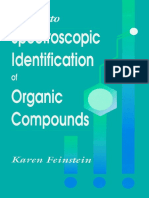 Guide to Spectroscopic Identification of Organic Compounds Feinstein