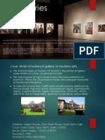 Art Galleries Case Study