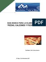 Guia Taller Pizzas, Calzones y Focaccias