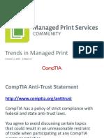 Slide Deck Trends in Managed Print 2014