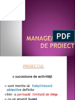 Managementul de Proiect 2018