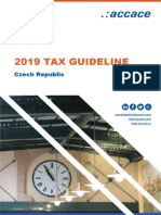 2019 Tax Guideline for the Czech Republic