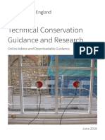 Technical Conservation Guidance and Research Brochure