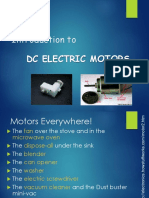 Introduction to DC Electric Motors