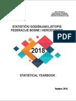 Statistički godišnjak/ljetopis Federacije BiH 2018