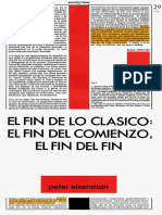 12. El Fin de Lo Clasico. Eisenman1984 Copia