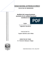 Analisis Del Comportamiento Mecanico de La Unidad Funcionalvertebral L1 L2