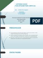 Presentation Cervical pain