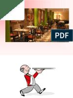 At a Restaurant Conversation Topics Dialogs 71928