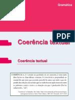 Coerência e Coesão Textual Final