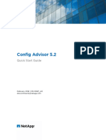 Config Advisor 5.2 Quick Start Guide
