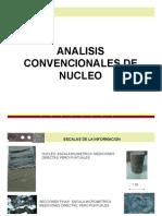 Analisis convencionales de nucleo