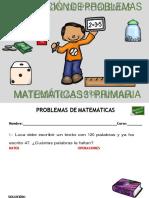 Coleccion de Problemas de Matematicas 3 º Primaria Converted