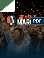 The Women's March 2019 Women's Agenda