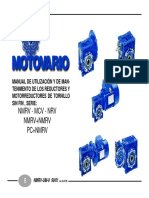 Catalogo de Reductores Motovario
