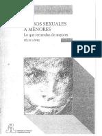 Abuso Sexual a Menores (Pag 14 a 29) - Clase Carolina Velasco