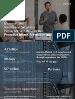 Microsoft 365 Proactive Attack Prevention Intro