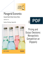 09 - Pricing and Output Decisions Monopolistic Competition and Oligopoly