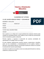 Cuaderno de Tutoria