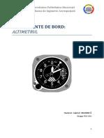 Metode de Măsurare a Altitudinii