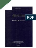 Robert de Boron - Merlím