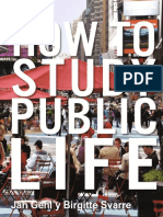 How to Study Public life, Jan Gehl