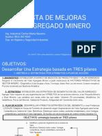 Propuesta de Mejoras Valor Agregado Ing. Carlos m. Navarro e-mail
